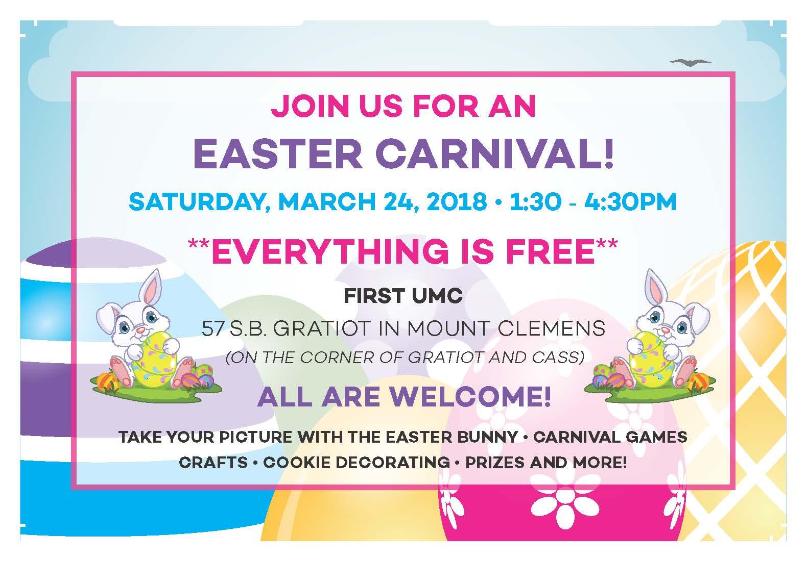 Easter Carnival Poster-2018