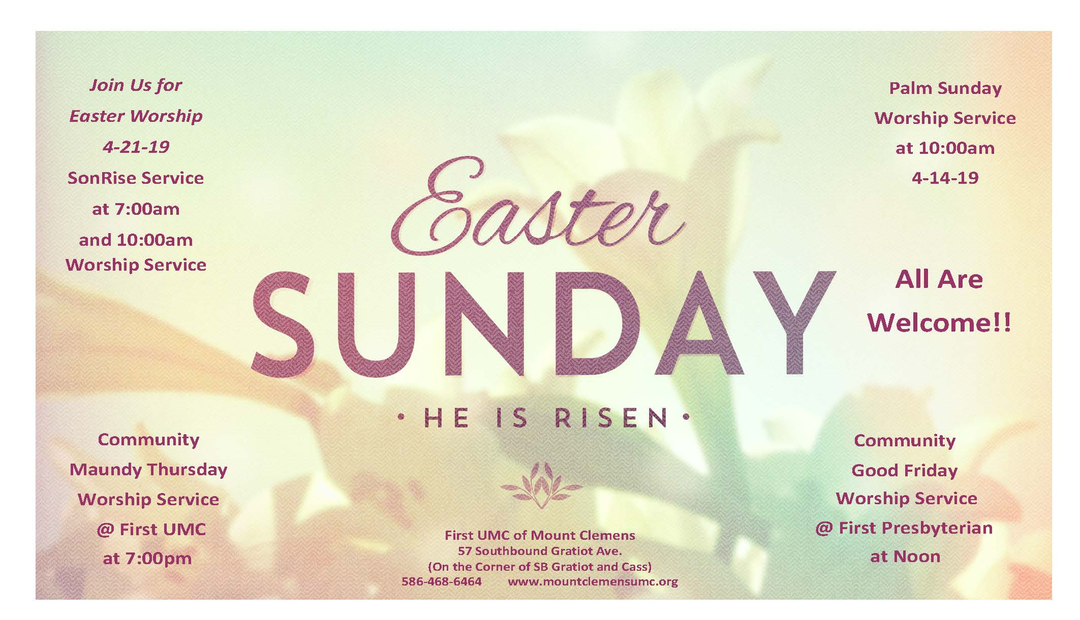 Easter Worship Poster 2019-777
